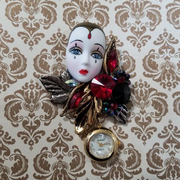 Bonetto Jewelry - Vintage Bonetto Watch Pin